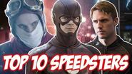 Top 10 Speedsters on The Flash!
