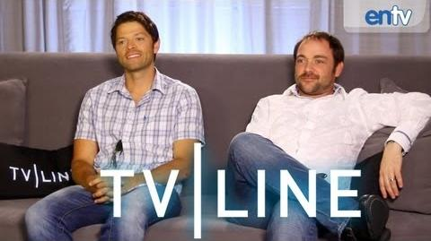 """Supernatural"" Stars Interview - Comic-Con 2013 - TVLine"