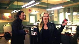 Arrow 6x1 - Blacksiren attact at police station