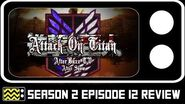 Attack on Titan Season 2 Episode 12 Review & AfterShow AfterBuzz TV