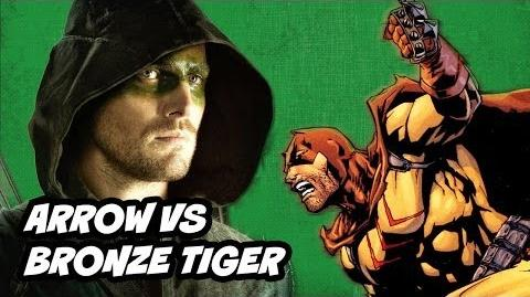 Arrow Season 2 Episode 2 Review - Oliver VS Bronze Tiger
