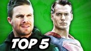 Arrow Season 3 Episode 19 Review and Batman v Superman Teaser
