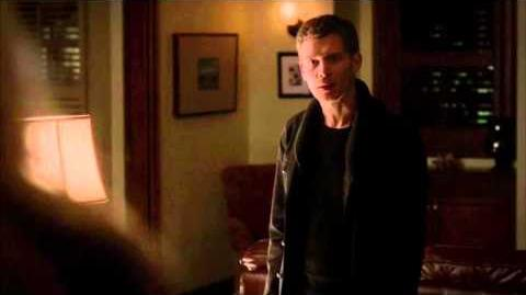 """Now that was definitely worth the calories!"" Klaus bites Caroline. (S04E13)"