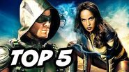 Arrow Season 4 Episode 15 Vixen - TOP 5 WTF and Easter Eggs