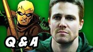 Arrow Season 2 Q&A - Connor Hawke Edition