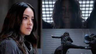 Agents of Shield Daisy Johnson Quake vs. Kree fight