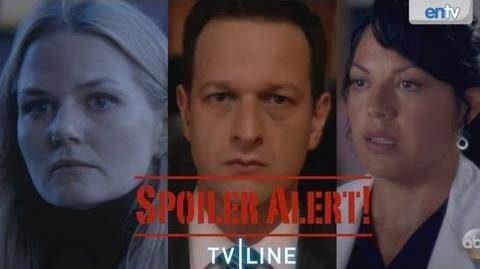 """Grey's Anatomy,"" ""Once Upon A Time"" Scoop, Plus ""Breaking Bad"" Finale Recap, More - SPOILER ALERT!"