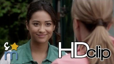 """Pretty Little Liars"" 4x01 Clip 3 ""Mrs DiLaurentis Is Back"" - Shay Mitchell"