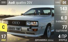 Audi quattro 20V (1990)
