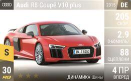 Audi R8 Coupe V10 plus (2015)