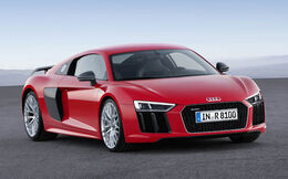 -Audi R8 Coupe V10 plus (2015)