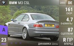 BMW M3 CSL (2003)