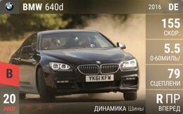 BMW 640d (2016)