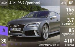 Audi RS 7 Sportback (2015)
