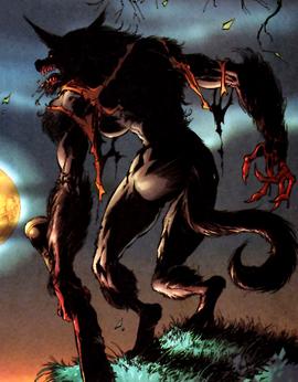 Laura Moonsong Werewolf Form