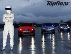 The Stig with cars