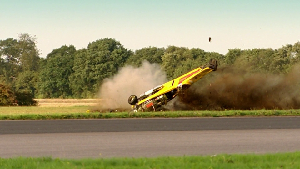 Hammond Jet Car Crash