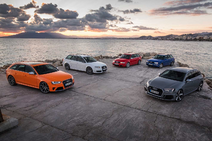 RS4 all Generations