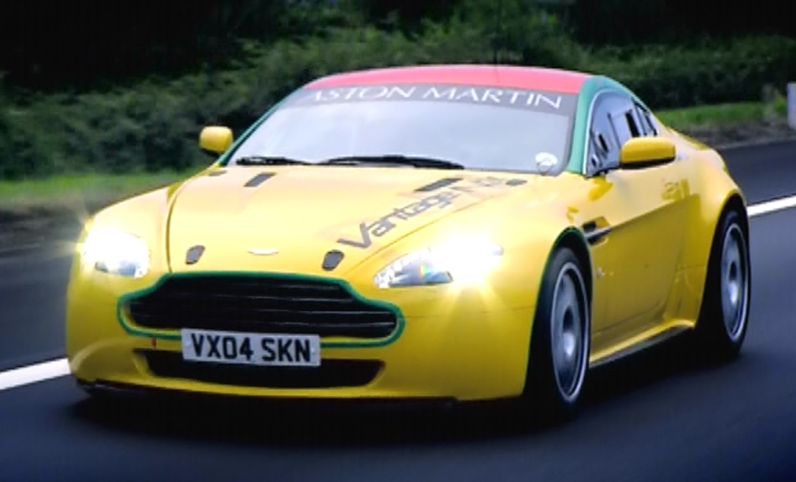 VantageN24. The Aston Martin V8 Vantage N24