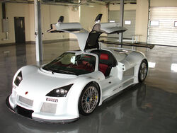 Gumpert Apollo White