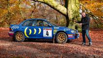 McRae rally car