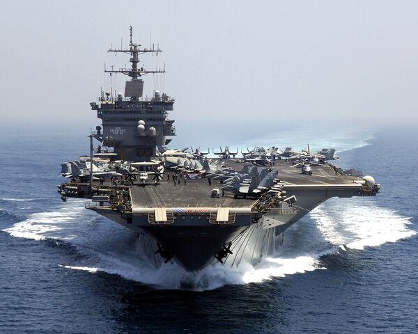 File:USS Enterprise Bow.jpg