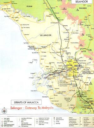 Selangor map 001