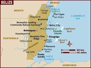Belize map 001