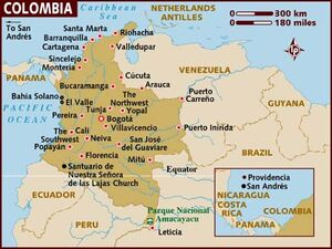Colombia map 001