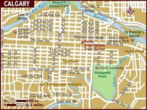 Calgary map 001