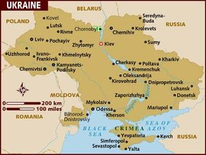 Ukraine map 001
