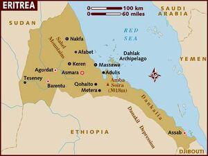 Eritrea map 001