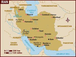 Iran map 001