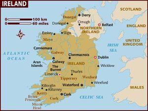 Ireland map 001