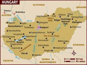 Hungary map 001
