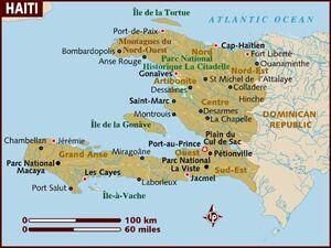 Haiti map 001