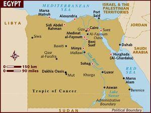 Egypt map 001