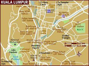 Kuala Lumpur map 001
