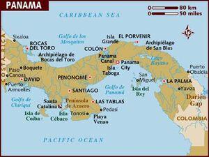 Panama map 001