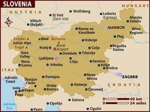 Slovenia map 001