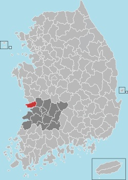 Gunsan map 001