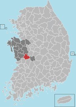Nonsan map 001