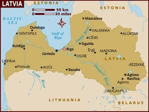 Latvia map 001