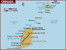 Grenada map 001