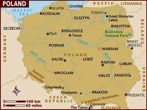 Poland map 001