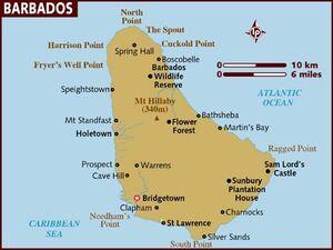 Barbados map 001