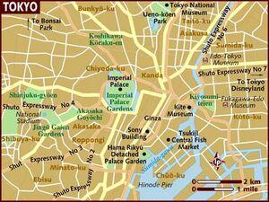 Tokyo map 001