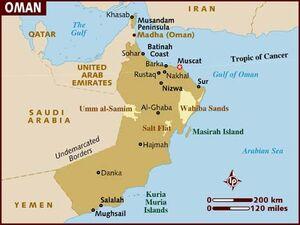 Oman map 001