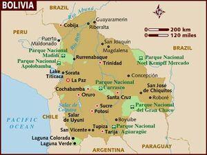 Boliva map 001