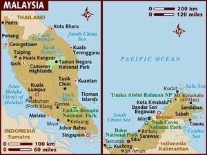 Malaysia Map 001